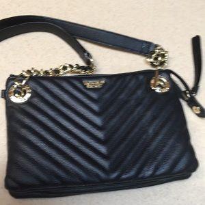 Victoria's Secret black crossbody bag Quilted NWOT
